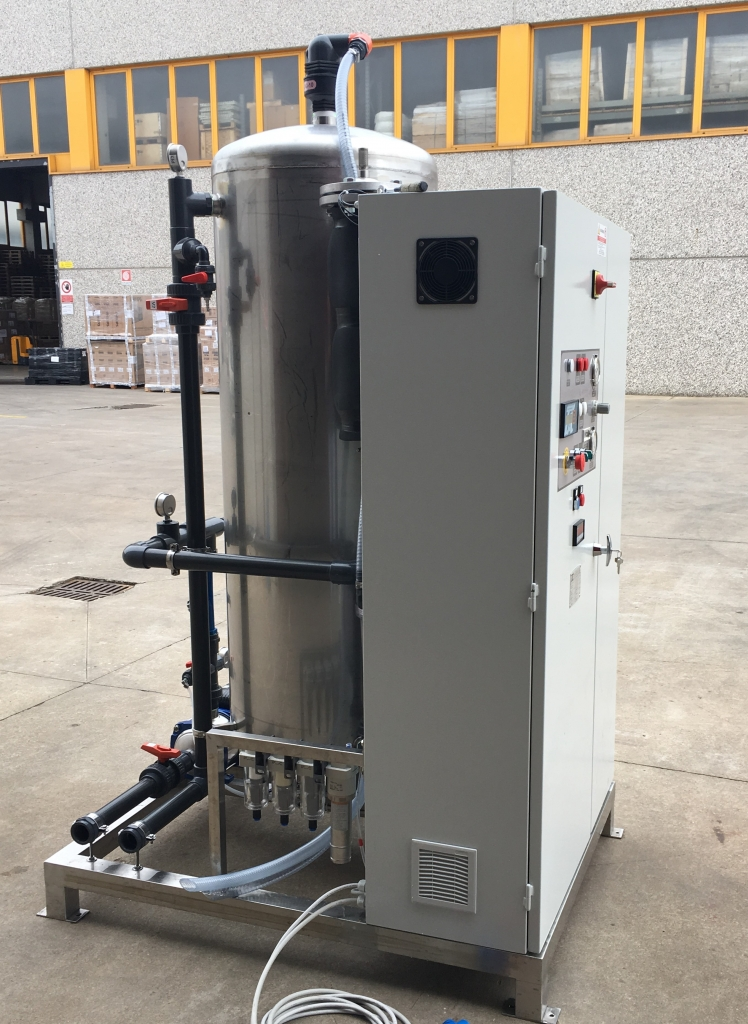 GEOmix - Water treatment systems with ozone generator